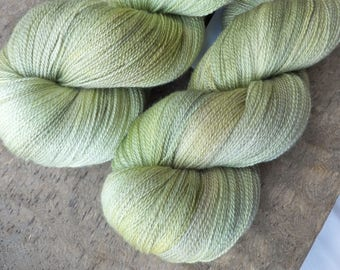 Sprout - Hand Dyed Merino Silk Lace Yarn