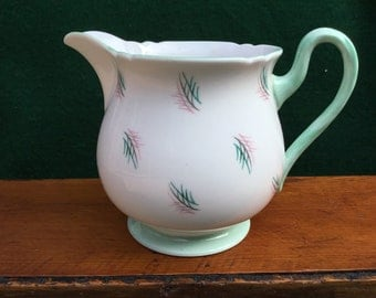 Shelley Fine Bone China L2404 Creamer, made in England