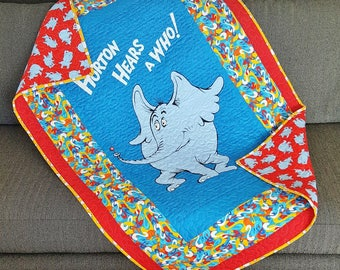 Dr. Seuss Quilt / Horton Hears A Who