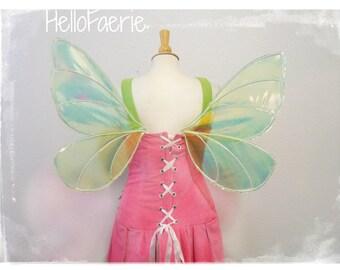 GLOW in the Dark Lighting Bug Firefly Iridescent Wings Fairy wings
