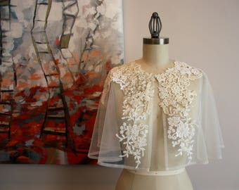 Lace Capelet - Wedding