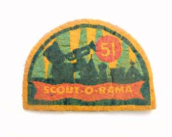 1951 Scout-O-Rama Merit Badge, California