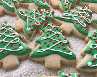 Handmade From Scratch Christmas Cookies