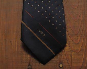 vintage Lanvin neck tie