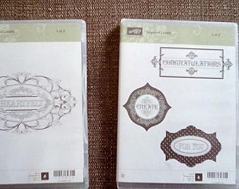 STAMPINUP! Layered Labels