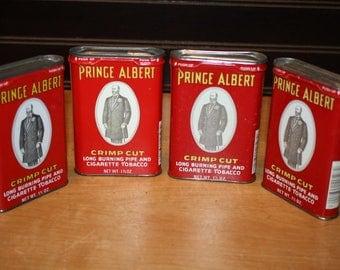 Prince Albert Tobacco Tins - set of 4 - item# 2848-11