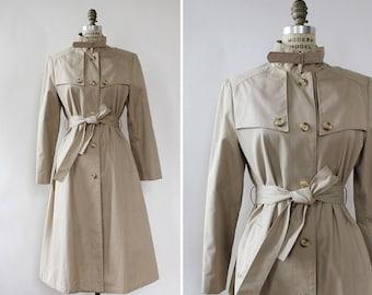 70s Trench Coat S/M • Misty Harbor Rain Jacket • Vintage Trench Coat • Vintage Rain Coat • 70s Rain Coat • Vintage Jacket | O447