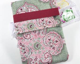 Tampon Case, Tampon Holder, Tampon Wallet - Pink Medallion