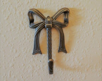 Solid Brass  Bow Wall Hook
