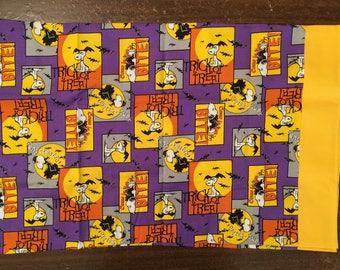 Snoopy Halloween travel pillow case/toddler pillow case 100% cotton