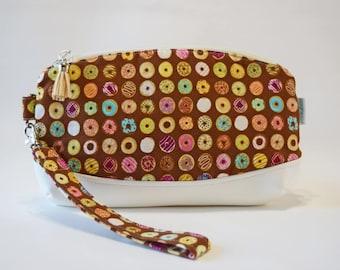 Donut Purse - Clutch Purse - Donut Bag - Clutch Bag - Novelty Purse - Birthday Gift for Teen - Cute Purse - Summer Bag -  Ready to Ship