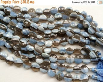 ON SALE 55% Boulder Opal Faceted Coin Beads, Boulder Opal Beads, AAA Boulder Opal Necklace, 12-13mm, 4 Inch, 7 Pcs - Aga51