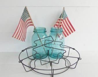 Wire Canning Jar Lifter,  Centerpiece  Basket, Wedding Decor