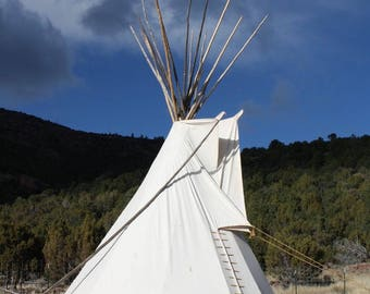 Sioux Style Backyard Tipi/Teepee - 8 ft