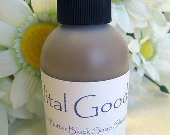 ON SALE Dreadlock Shampoo African Black Soap Shea Butter Shampoo In The Raw 4oz
