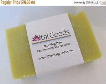ON SALE Morning dew Coconut Milk Dreadlocks Shampoo Bar 4oz