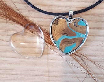 Valentine's Day Special - Custom Heart Shaped Horse Hair Pendant