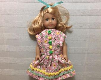 Mini AG doll summer dress