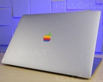 Retro Rainbo Apple Macbook Pro Late 2016-2017 version