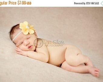 10% SALE The single sprinkled- Sunny- stretch headband