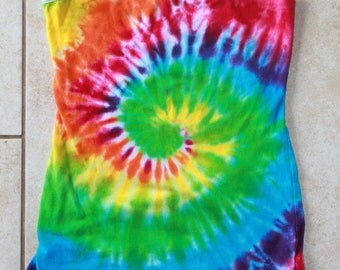 Tie Dye Tank Top Upcycled