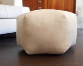 RESERVED Metallic pouf / meditation cushion