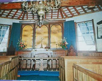 St. Peter's Church, St. George's Bermuda Vintage Post Card