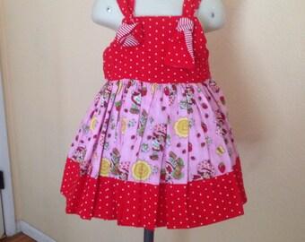 Girls Strawberry Shortcake dress size 2