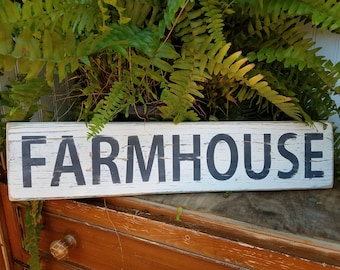 Farmhouse Sign / French Country Decor / Barnwood Farmhouse Sign/ Reclaimed wood / Country Farm Wall Decor / Country Kitchen Decor / Porch