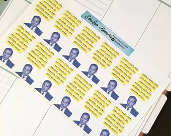 Michael Scott Quote Inspired Stickers/The Office Inspired Quote Stickers
