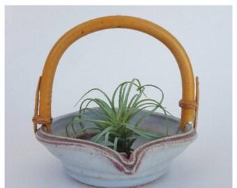 Ceramic Basket / Ceramic Bowl / Air Plant Holder