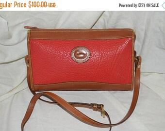 June Savings Dooney & Bourke~Dooney Bag~ Shoulder Bag~ USA Made Cross Body~Red Dooney  Bourke