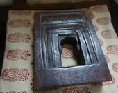 Wooden Niche from India Teak Vintage