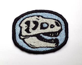 Tyrannosaurus Rex Fossil Embroidered Patch