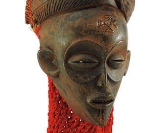 Chokwe Mask Mwana Pwo Angola Congo African Art 101400