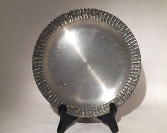 Small Pewter Tray made in Denmark