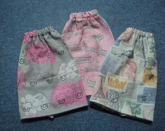"Paris Themed Skirt for Barbie Dolls ~ Clothes for 11 1/2"" Fashion Dolls"
