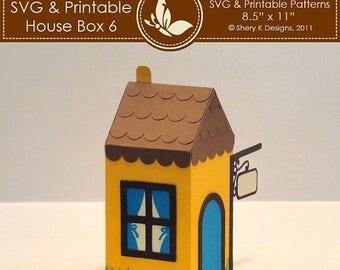 40% off SVG & Printable House Box 6