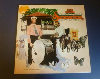 In The Good Old Summertime Vinyl Record LP 07818 National Geographic Society 1979