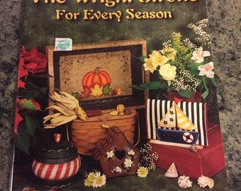 Pattern Book for Acrylic Painting - The Wright Stroke For Every Season by Rachel Wright