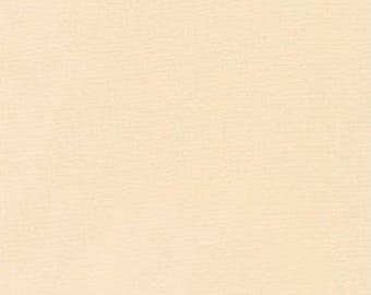 Cream, Kona Cotton, Robert Kaufman Fabrics, 1/2 Yard