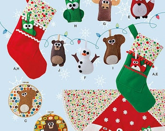 NEW  Simplicity 1516  Pattern  Christmas Items