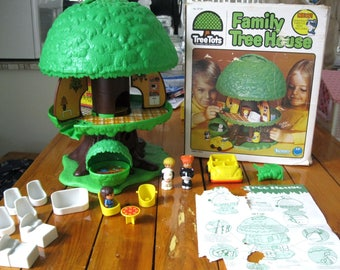 1975 Kenner Tree Tots Tree House Playset General Mills