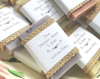 30 party favors, 1 oz soap favors, rustic wedding, favors, gift for guests, wedding favors, shower favors, baby shower favors, party favors