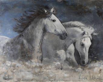 Art Print: Midnight Ride (Matted, 11x14)