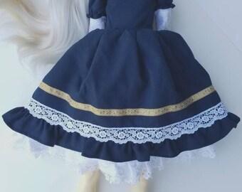 Ooak SD bjd Alice Dear Lolita dress