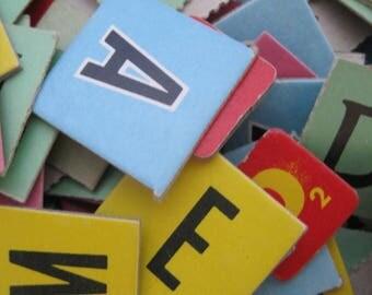 Vintage Letters & Numbers
