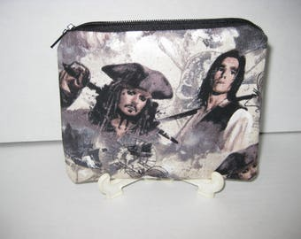 Pirates Of The Caribbean Zipper Pouch