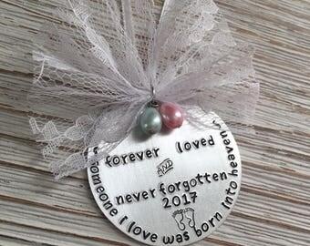 Memorial Baby Ornament, Miscarriage Ornament, Stillborn Stillbirth, Pregnancy Loss Ornament, Baby Loss Ornament, Infant Loss Ornament