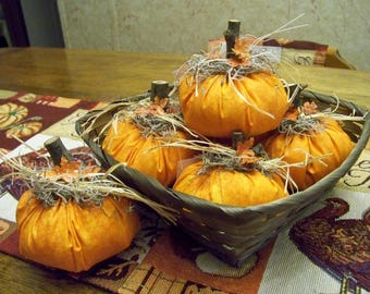 Primitive Pumpkin Bowl Fillers